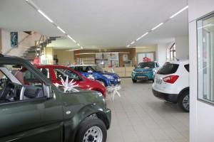 Ausstellungsraum Suzuki Automobile